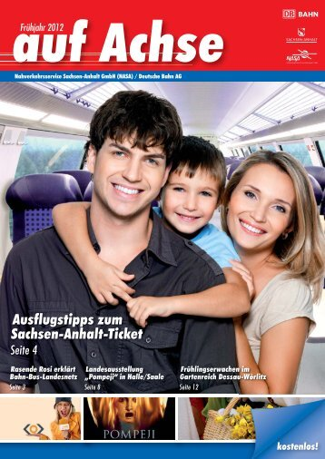 Ausflugstipps zum Sachsen-Anhalt-Ticket - Nasa