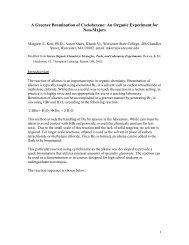 Demonstration Procedure (PDF) - Green Chemistry Center