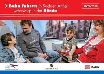 Bahn fahren in Sachsen-Anhalt Unterwegs in der Börde - Nasa