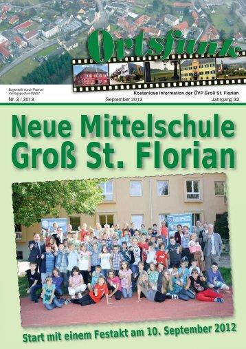 Ortsfunk - Marktgemeinde Groß St. Florian