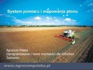 System pomiaru i mapowania plonu - Agrocom Polska