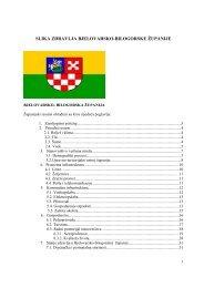 Slika zdravlja BBŽ - Bjelovarsko-bilogorska županija