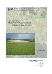 Studija o utjecaju brze ceste na okoliš
