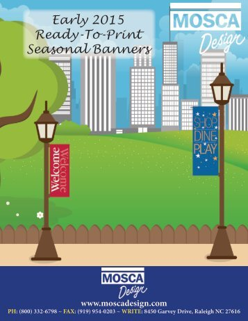 Early 2015 Ready-To-Print Seasonal Banners