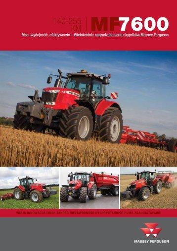 seria 7600 - Maszyny rolnicze