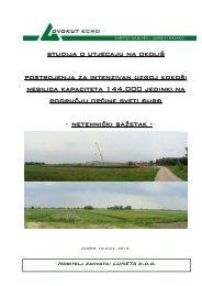 Studija o utjecaju na okoliš - netehnički sažetak - Općina Sveti Đurđ
