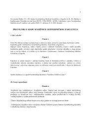 Pravilnik o radu knjižnice Geotehničkog fakulteta (PDF)