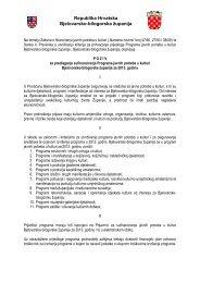 P O Z I V za predlaganje sufinanciranja Programa javnih potreba u ...