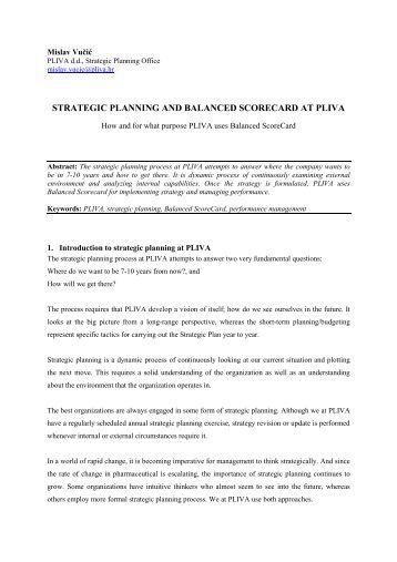 hhi strategic plan part 3 essay