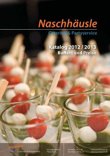 Katalog 2012/13 - Naschhäusle