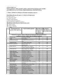 ZAŁĄCZNIK Nr 4 Wykaz gatunków roślin ... - Baltic Green Belt
