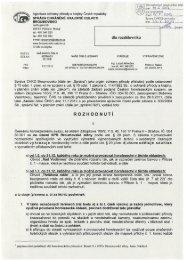 rozhodnutí Správy CHKO Broumovsko - Český horolezecký svaz