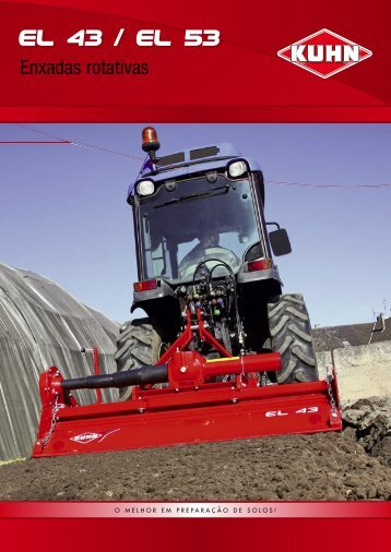 Enxadas rotativas - Kuhn do Brasil Implementos Agricolas