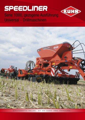 SPEEDLINER Serie 1000, gezogene Ausführung - Kuhn Maschinen ...