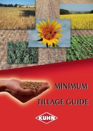 Minimum Tillage Guide - Kuhn
