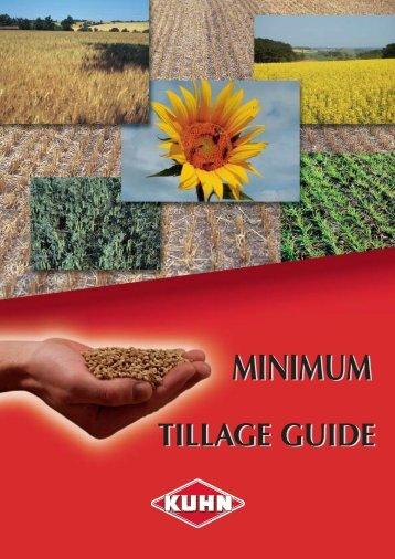 Minimum Tillage Guide - Kuhn