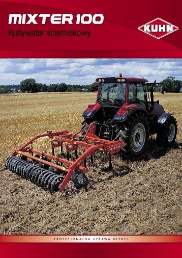 MIXTER 100 - Maszyny rolnicze KUHN