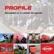 Profile Serie 80: puntos fuertes, ventajas para el usuario - Kuhn
