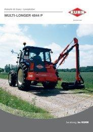 MULTI-LONGER 4844 P - Maszyny rolnicze KUHN