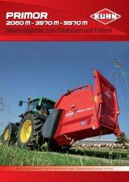Primor 2060M, 3570M und 5570M - Kuhn Maschinen Vertrieb GmbH