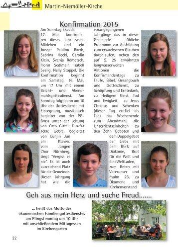 Gemeindebriefseiten Mai 2015