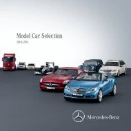 Model Car Selection 2010/2011