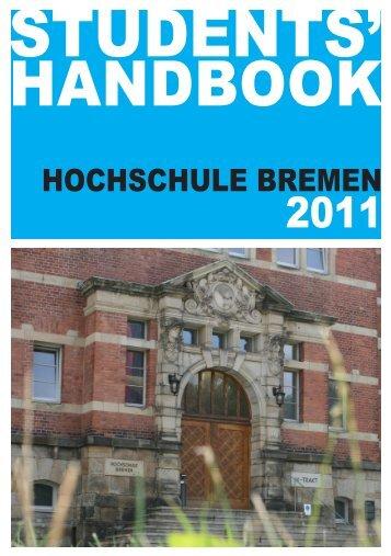 Erstireader 2011_deutsch.pdf - AStA der Hochschule Bremen