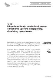4/4.3 Primjeri utvrđivanja rezidentnosti prema odredbama ugovora o ...