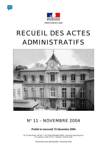 Raa_Novembre_2004 - AUDE
