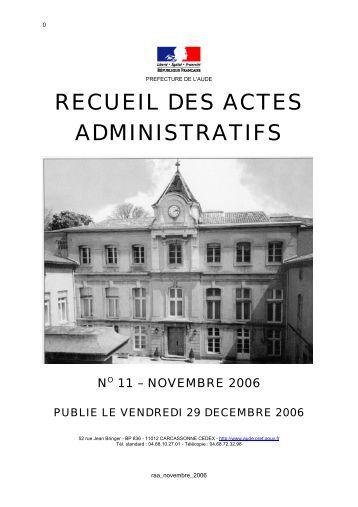 raa_novembre_2006 - AUDE