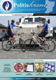 DRINGEND HULPNUMMER 012 74 60 60 Lokale politie kanton ...