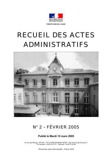 Raa_Février_2005 - AUDE