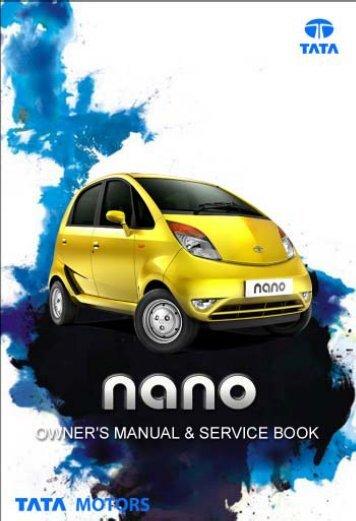 Owner's Manual & Service Book - Tata Motors Customer Care