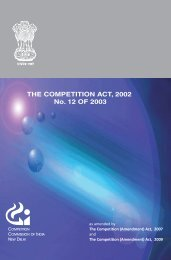 competiitiion act 2002 - Chair on Consumer Law & Practice