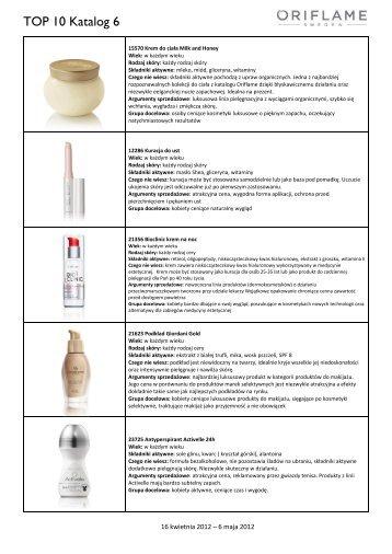 TOP 10 Katalog 6 - Oriflame