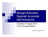 Bisogni Educativi Speciali: la scuola dell'inclusione