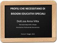 Profili che necessitano di Bisogni Educativi Speciali - (ex CSA) di ...