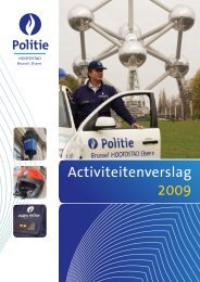 Rapport 2009 - Lokale Politie