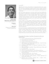 glen duke principal/gis analyst - Renaissance Planning Group