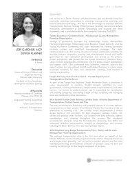 lori gardner, aicp senior planner - Renaissance Planning Group