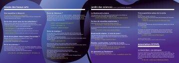 Programme de la Nuit des musées 2012 - Musée des beaux-arts de ...