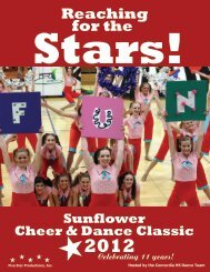 2012 Sunflower 5 Star Productions Brochure - Five Star Productions