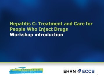 Hepatitis C: Treatment and Care for People Who Inject Drugs ...