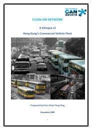 A Glimpse of Hong Kong's Commercial Vehicle Fleet