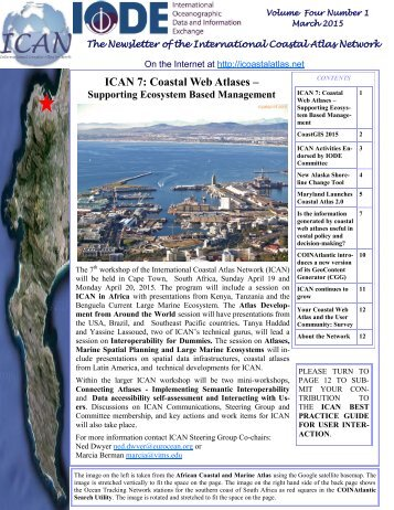 ICAN Newsletter March 2015 Final