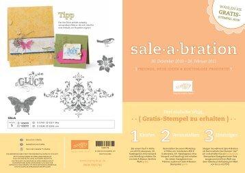 Sale-A-Bration - Stampin' Up!