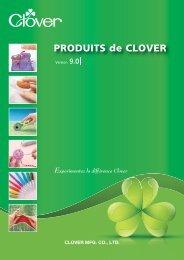 PRODUITS de CLOVER Version 9.0