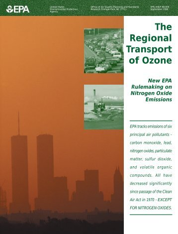The Regional Transport of Ozone - US Environmental Protection ...