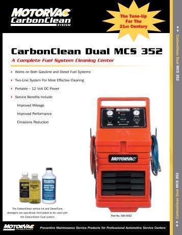 CarbonClean Dual MCS 352 - MotorVac