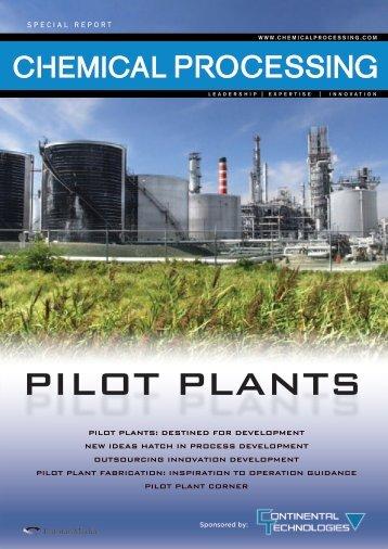 PILOT PLANTS - Continental Technologies Pilot Plant Design ...
